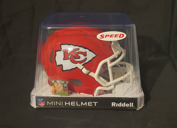 Unsigned - Kansas City Chiefs - Mini Speed Helmet