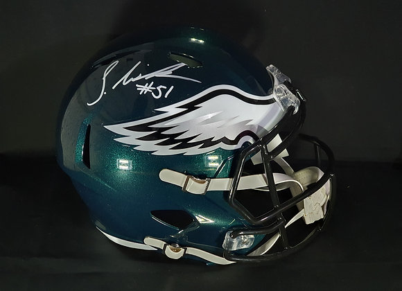 Shareef Miller - Philadelphia Eagles - Full Size Speed Helmet