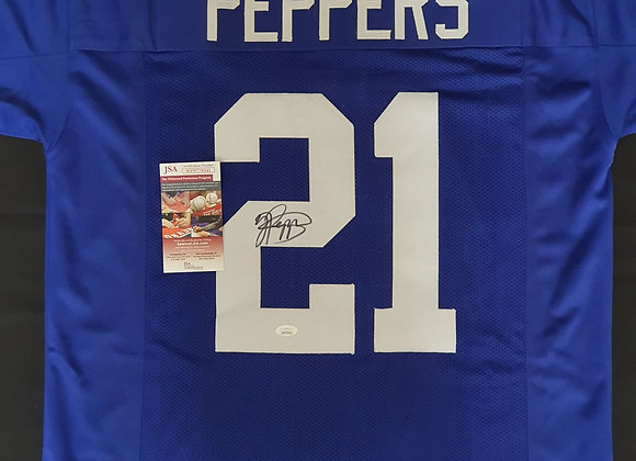 Jabrill Peppers - New York Giants - Signed Custom Jersey
