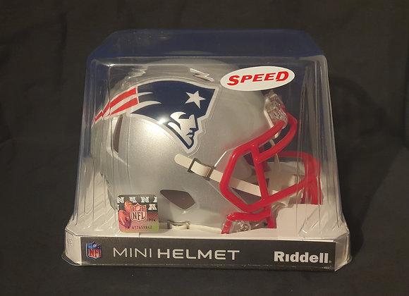 Unsigned - New England Patriots - Mini Speed Helmet