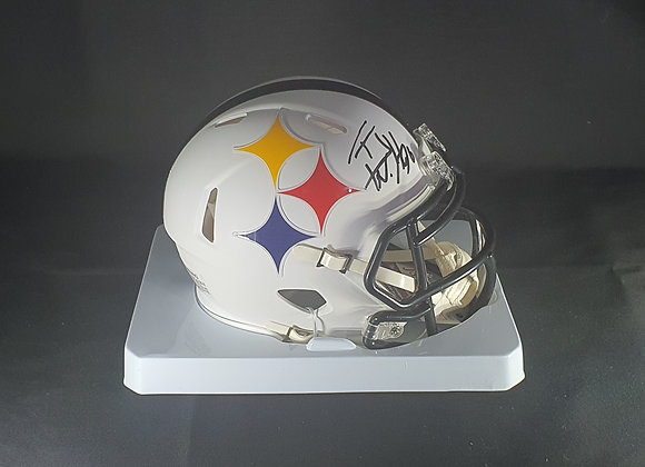 TJ Watt - Pittsburgh Steelers - Mini AMP Helmet