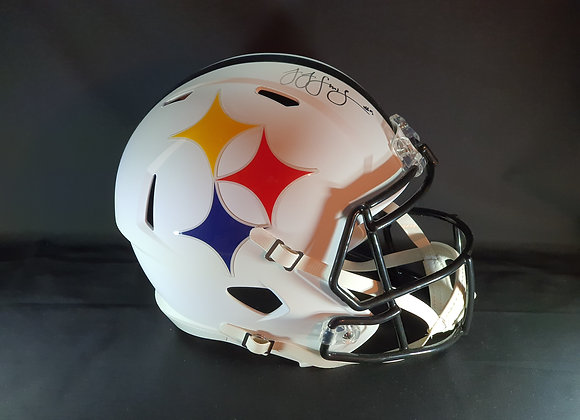 Juju Smith Schuster - Pittsburgh Steelers - Full Size AMP Helmet