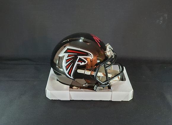 Michael Vick - Atlanta Falcons - Mini Chrome Helmet