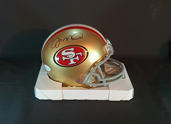 Joe Montana - San Francisco 49ers - Mini Helmet