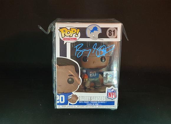 Barry Sanders - Detroit Lions - Signed Funko POP