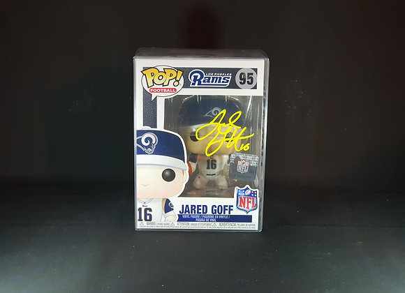 Jared Goff - Los Angeles Rams - Signed Funko POP