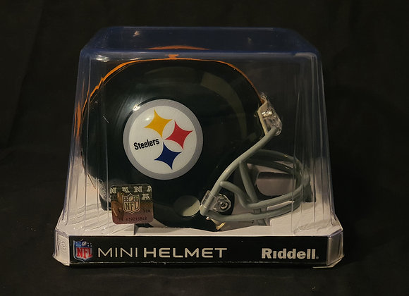 Unsigned - Pittsburgh Steelers - Mini Replica Helmet
