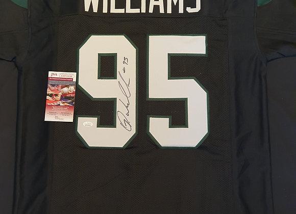 Quinnen Williams - New York Jets - Signed Custom Jersey