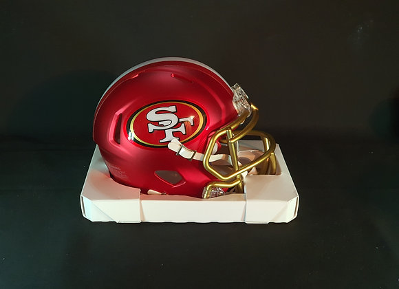 Jimmy Garoppolo - San Francisco 49ers - Mini Blaze Helmet