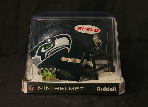 Unsigned - Seattle Seahawks - Mini Speed Helmet