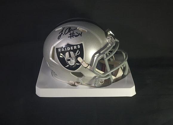 Johnathan Abram - Las Vegas Raiders - Mini Speed Helmet