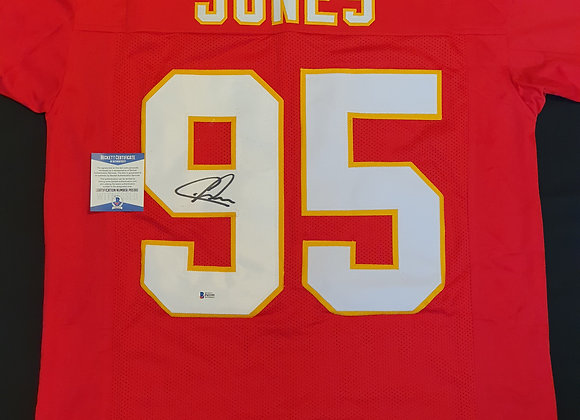 Chris Jones - Kansas City Chiefs - Signed Custom Jersey