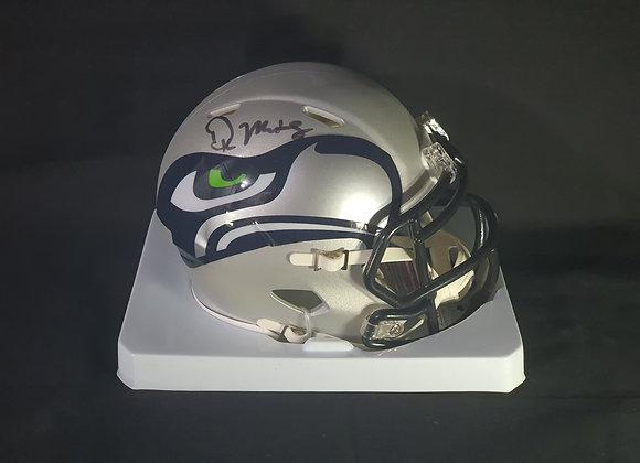 DK Metcalf - Seattle Seahawks - Mini AMP Helmet