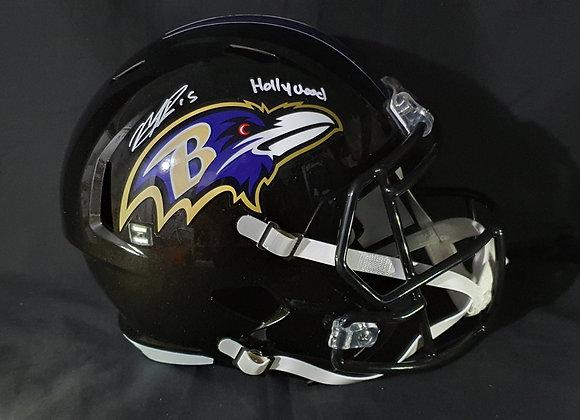 Marquise Brown - Baltimore Ravens - Full Size Speed Helmet