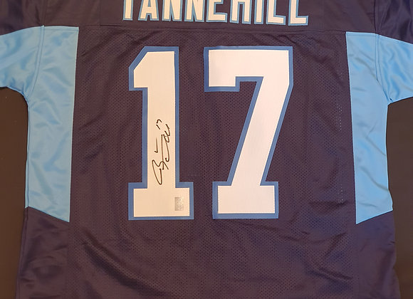 Ryan Tannehill - Tennessee Titans - Signed Custom Jersey