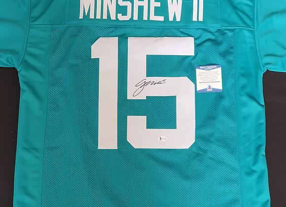 Gardner Minshew - Jacksonville Jaguars - Signed Custom Jersey