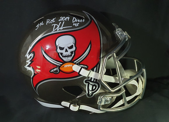 Devin White - Tampa Bay Buccaneers - Full Size Speed Helmet