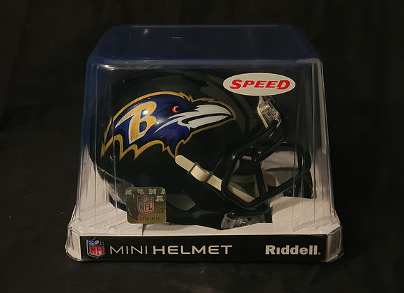 Unsigned - Baltimore Ravens - Mini Speed Helmet