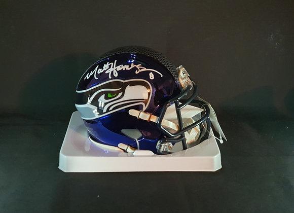 Matt Hasselbeck - Seattle Seahawks - Mini Chrome Helmet