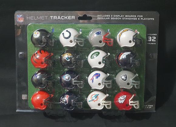 NFL Helmet Tracker Pack - 32 Teams