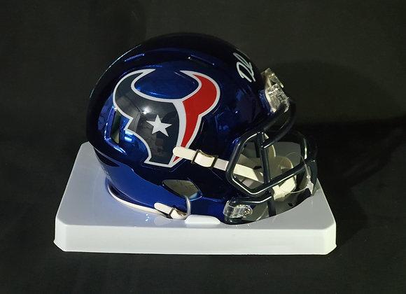 Deshaun Watson - Houston Texans - Mini Chrome Helmet