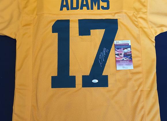 Davante Adams - Green Bay Packers - Signed Custom Jersey