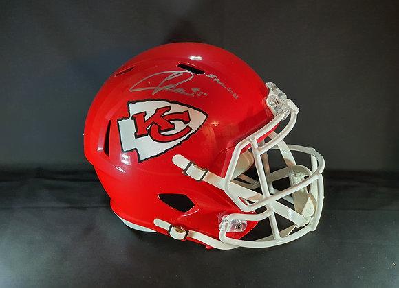 Chris Jones - Kansas City Chiefs - Full Size Speed Helmet