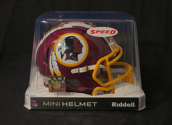 Unsigned - Washington Redskins - Mini Speed Helmet
