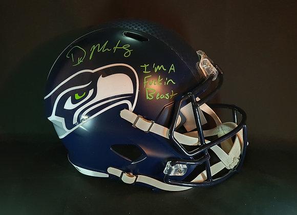 DK Metcalf - Seattle Seahawks - Full Size Speed Helmet