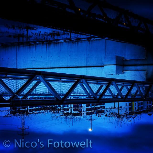 Instagram - #landschaft #bridge #spiegelung #glattpark #vignette #heaven #nikon_