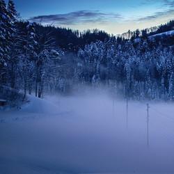 Instagram - #landschaft #degersheim #morgens #sonnenaufgang #nebel #snow #heaven
