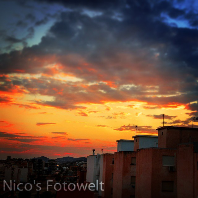 Instagram - #sunset #holidays #spain #villajoiosa #heaven #city #nikon_d7000 #li