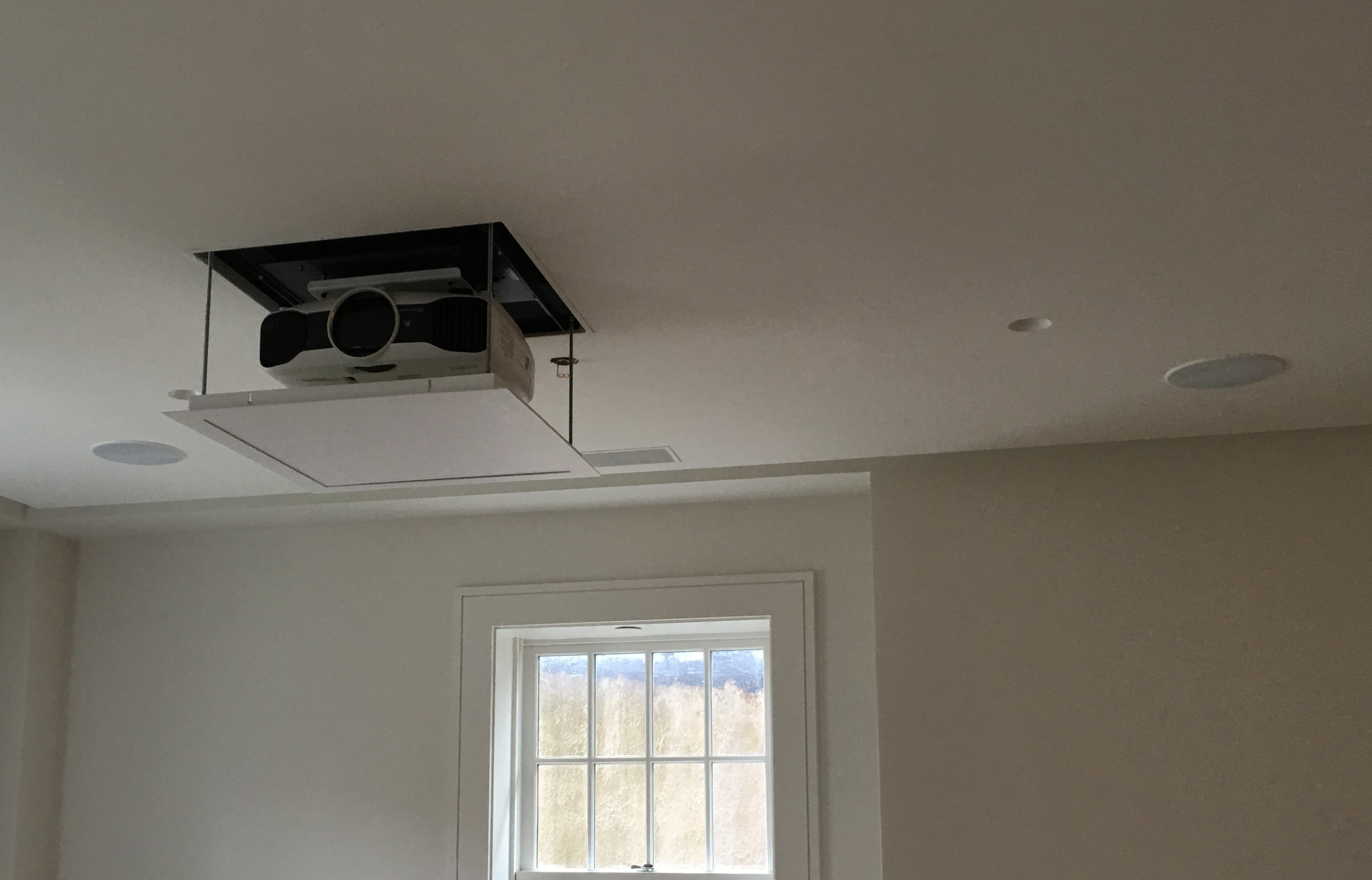 In-Ceiling Projector