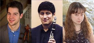 Trio: Beard, Molina, Inui