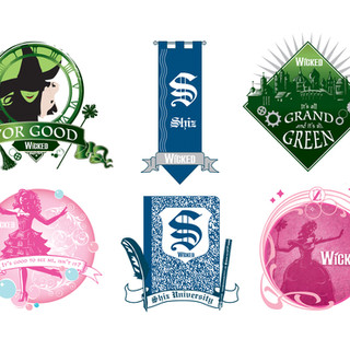 Wicked the Musical - Graphics