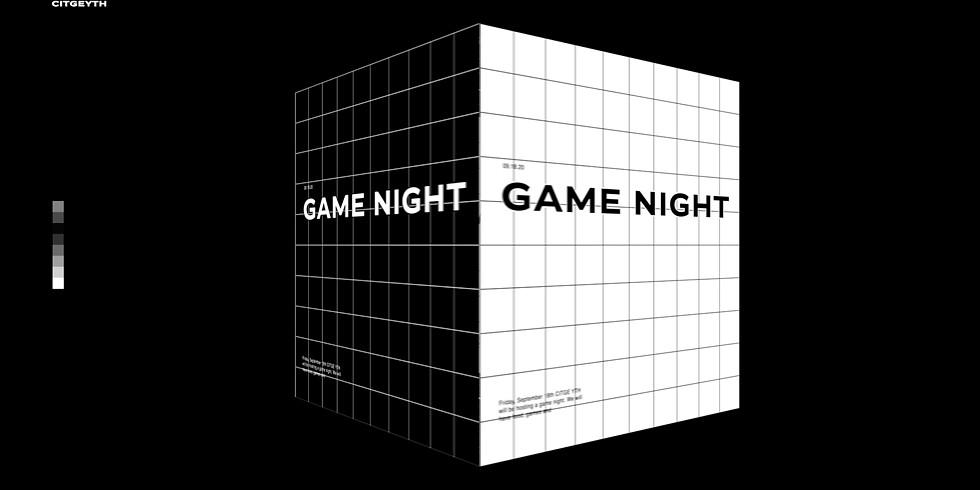 CITGE YTH   GAME NIGHT