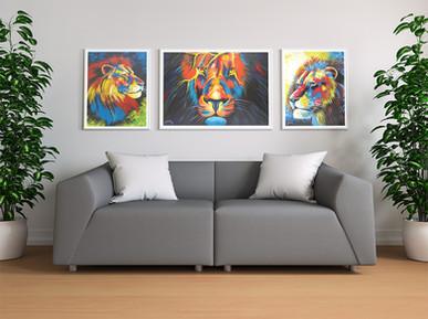 Original acrylic paintings by Eric Mathenge