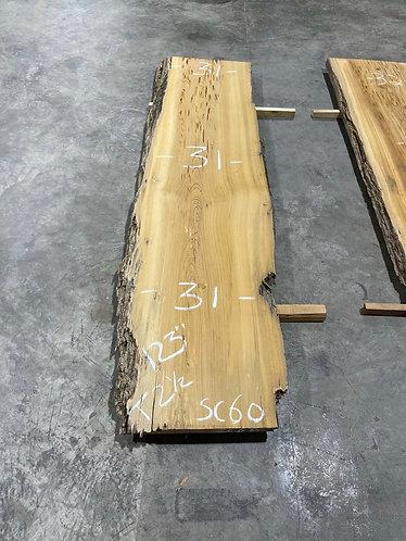 Sinker Cypress Slab #60