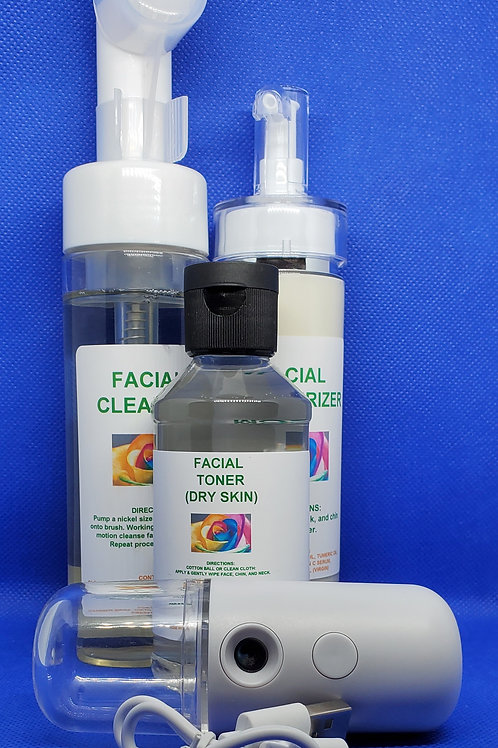 Full Facial Cleaning System (WITH MISTER)