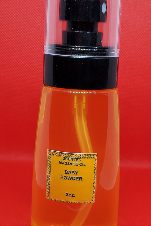 Scented Massage/Body Oil (SCENTED)
