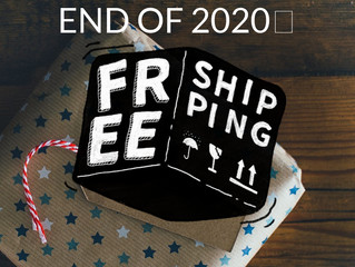FREE SHIPPING TIL 12-31-20