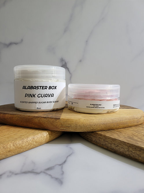 Scented Whipped Body Butter & Whipped Sugar Scrub