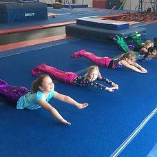 Kentucky Gymnastics Academy preschool class