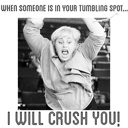 gymnastics footnoted tumbling crush you koller