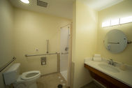 Short Term Rehab Suite Bathroom Frienship Health & Rehab