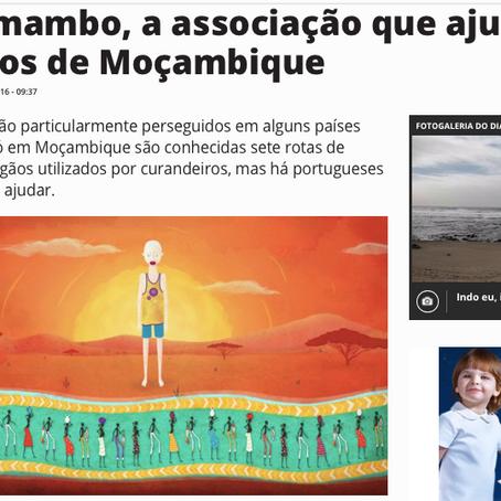 TSF | Kanimambo, a associação que ajuda os albinos de Moçambique