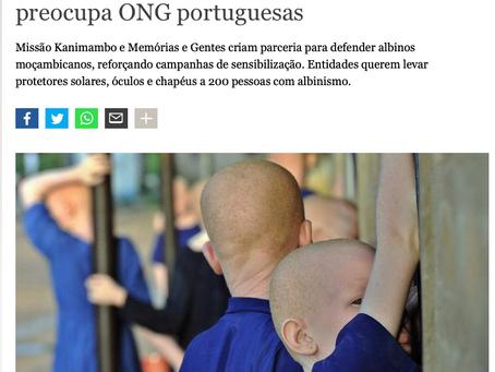 DW | Perseguição de albinos em Moçambique preocupa ONG portuguesas