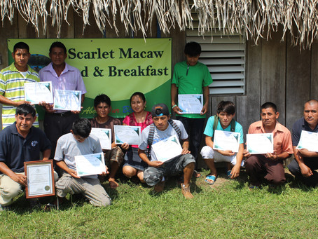Scarlet Macaw Bed & Breakfast Group Receives OPP Training
