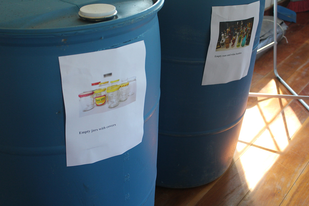 Drums for sorting trash