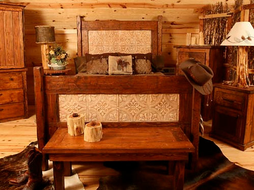 """Old Mercantile"" Bed"